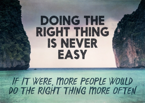 doing-the-right-thing